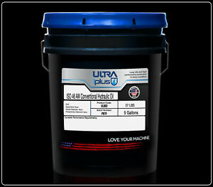 Ultra1Plus ISO 46 AW Hydraulic Oil 5 Gallon Pail - Rated for 4,500 Hours