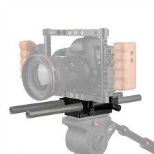 CAMVATE Tripod Mount Base Plate w/ 15mm rail blocks For DSLR Shoulder Camera rig