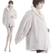 ON SALE! Large! Gorgeous Real Female Pearl Tourmaline Mink Fur Jacket