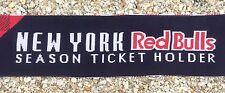 New York Red Bulls 2013 Season Ticket Holder Scarf - MLS