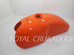 Neuf Benelli Mojave Orange & Gas Réservoir Honda CB Ducati Yamaha Cafe Racer