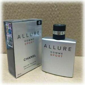 Chanel Allure Homme Sport Eau de Toilette EDT 3.4 fl.oz / 100 ml SALE!!! NEW!!!
