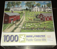 Bits And Pieces 1000 Piece Jigsaw Puzzle Picking Flowers Bob Fair Art Horse Barn