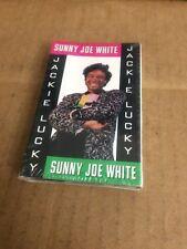 SUNNY JOE WHITE JACKIE LUCKY FACTORY SEALED CASSETTE SINGLE 7