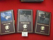 North American Hunting Club- 3 Hunting Books - Whitetails, Big Bucks, Game Rifle