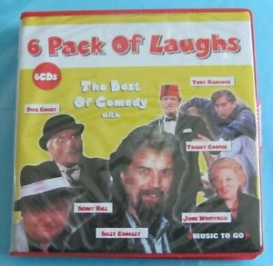 6 PACK OF LAUGHS CD Comedy Billy Connolly Benny Hill Dick Emery see below
