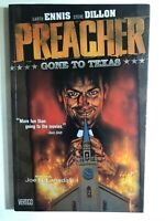 PREACHER volume one Gone to Texas (1996) DC Vertigo Comics TPB FINE-