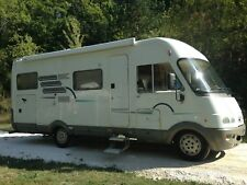 Hymer LHD B644 motorhome Fiat 2.8td 6 berth fixed rear bed over large garage