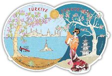 TURKEY 2019, YEAR OF TURKISH CULTURE IN JAPAN, BLOCK, MNH