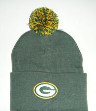 Green Bay Packers  Authentic Beanie / Toque NWT Knit Hat  With Pom