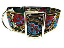 "2"" Inch Wide Buckle or Martingale Style Dog Collar for Large & Giant Breeds"