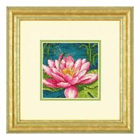 Dimensions D71-07240 | Dragonlily Picture Needlepoint/Tapestry Kit 12.7 x 12.7cm