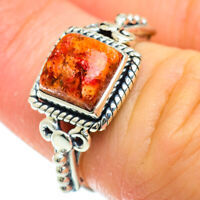 Sponge Coral 925 Sterling Silver Ring Size 6 Ana Co Jewelry R51420F