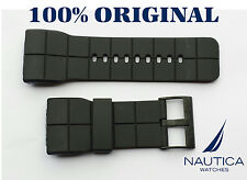 NAUTICA REPLACEMENT BAND BLACK 100% ORIGINAL NMC 100 36mm N17523 N17527 N17528