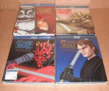 Star Wars: The Clone Wars - The Complete Season 1,2,3,4 NEW R1 Blu-ray Disc