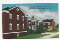 Vintage Postcard ** Mary Lyndon Hall * University of Georgia * Athens * GA