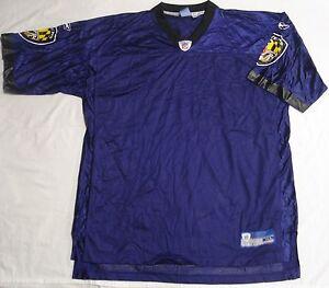 Baltimore Ravens Football Jersey Replica Blank Purple Black