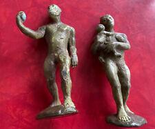 The Carnegie Collection Australopithecus Male And Female Safari Ltd 1988 Vintage