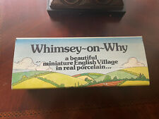 Wade Of England, Whimsey-On-Why miniature village,set #3, Nwb
