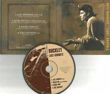 JEFF BUCKLEY Last Goodbye 2 UNRELEASED & LIVE CD Single Alex Chilton Remake 1995