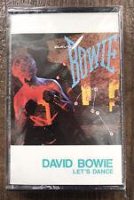 David Bowie – Let's Dance 1983 Musicasetta Nuova Sigillata USA 4XO17093