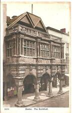 RAREV COLLECTABLE LOVELY EARLY VINTAGE POSTCARD,THE GUILDHALL,EXETER,DEVON