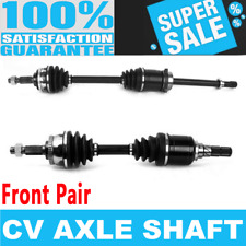 Front 2x CV Joint Axle Shaft for NISSAN MAXIMA 92-94 SE Automatic Transmission