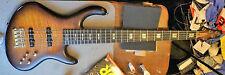Benavente Vortex 5 String Bass 2002 Tobacco Burst Matte