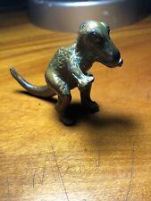 "Original 1940s Srg Co Bronze Dinosaur - T- Rex Tyrannosaurus, 3"" Museum Souvenir"