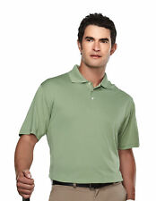 Tri-Mountain Men's Big And Tall Three Button Placket Golf T-Shirt. 158-Tall