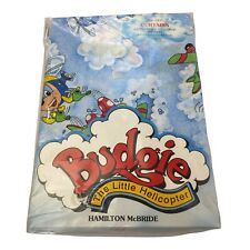 More details for budgie the little helicopter vtg new curtains / fabric original 90s tv