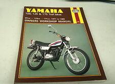 1971 - 1985 YAMAHA 100 125 175 TRAIL BIKES Workshop Manual