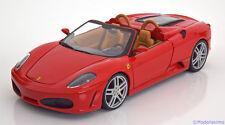 1:18 Hot Wheels Ferrari F430 Spider 2005 red