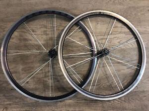 Bontrager Race X-Lite Road Bike Clincher Wheelset 700C QR Black 8-9-10 Speed