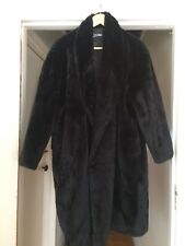 Authentic JPG jean paul gaultier Black Faux Fur Coat Collectors *must Have!!!!❤️