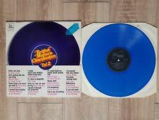 BRITISH MOTOWN CHARTBUSTERS Vol 2 on blue vinyl