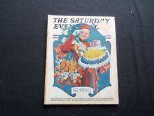1930 MARCH 29 THE SATURDAY EVENING POST MAGAZINE - ILLUSTRATED COVER -SP 1372