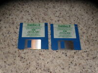 "Hardball II PC IBM, XT, AT Tandy 1000 Series 3.5"" floppy disks"