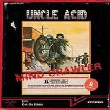 "UNCLE ACID & THE DEADBEATS - Mind Crawler  (Ltd.7"" - TRANSPARENT RED) EP"