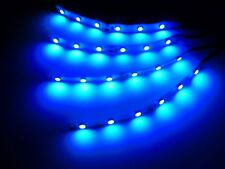 RC Blue Led Strip lights Superbright Underglow Car Truck Drift Quadcopter