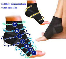 Compression Support Socks Foot Anti Fatigue Plantar Arch Heel Ankle NEW AC