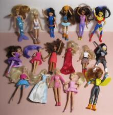 "Barbie 1990s/2000s 5"" McDonalds HAPPY MEAL TOY DOLLS-My Scene DC Comics Princess"