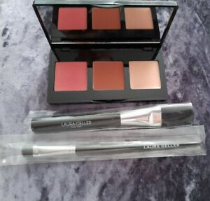 Laura Geller Multitasking Eye Lip Cheek Palette *Perfectly Neutral* FREE BRUSHES