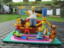 2006 McFarlane Series The Simpsons - COUCH GAG - Magnetic Minifigure Family Set