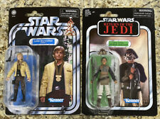 Star Wars Vintage Collection Luke Skywalker VC151& Lando Calrissian Skiff VC144