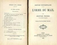Anatole France = L'ORME DI MAIL 1898