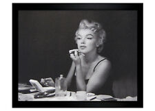 """Marilyn Monroe Make Up 16x20 1.25"""" Black Framed Poster (E2-1000c)"""