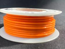 "NTE WT20-03-25  20 awg 19 Strand Type ""E"" Teflon Orange 200°C@600V 25 ft. spool"