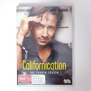 Californication Season 4 TV Series DVD Region 4 AUS - Comedy Drama
