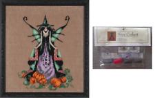 Nora Corbett Mirabilia Cross Stitch PATTERN&EMBELLISH Pack LUNA NC205